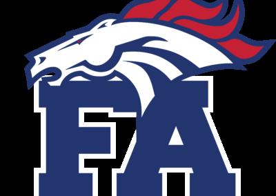FA Mustangs-cap & helmet logo