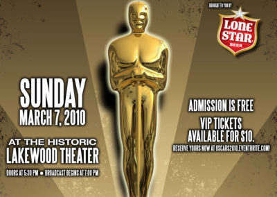 Oscar Watching Party Poster
