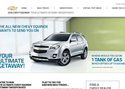 Chevy Equinox: Your Ultimate Getaway!
