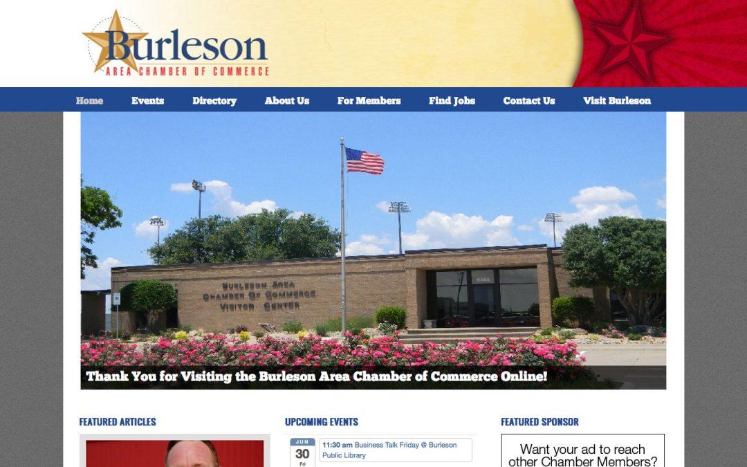 Burleson Area Chamber of Commerce website